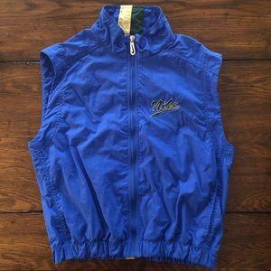 VTG Nike Blue Windbreaker Vest w/ Embroidered Logo